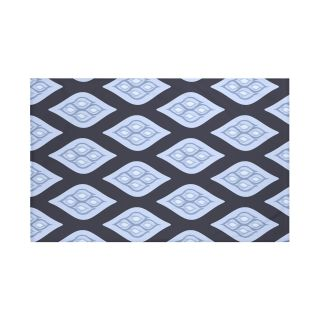 Tail Feathers Geometric Print Throw Blanket by e by design