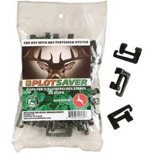 Deer Stopper Stake Ribbon Clips for Plot Saver Kit, Pkg. of 30