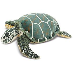 Melissa & Doug Plush Sea Turtle Animal Toy   13862793