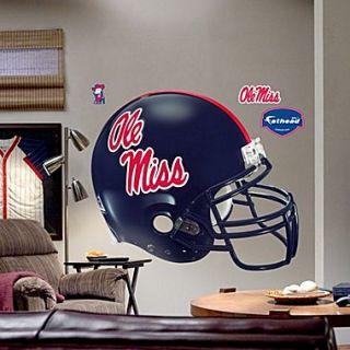 Fathead College Teams NCAA Helmet Wall Decal; Ole Miss