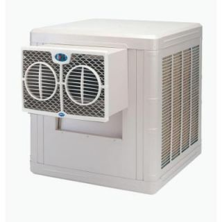 Brisa 3000 CFM 2 Speed Front Discharge Window Evaporative Cooler for 700 sq. ft. (with Motor) BW3004
