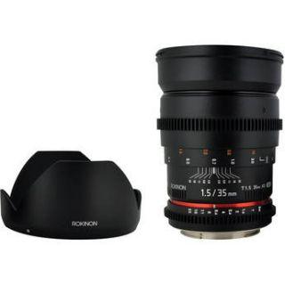Rokinon 35mm T1.5 Cine AS UMC Lens for Sony E Mount CV35 NEX