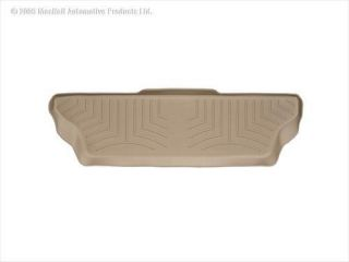 WeatherTech   WeatherTech DigitalFit Floor Liners, Rear (Tan) 450813   Fits 2001 to 2003 Dodge Durango