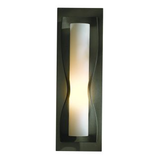 Hubbardton Forge 204790 07 Dark Smoke Wall Light