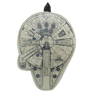 Star Wars Grey Millennium Falcon 3D Backpack