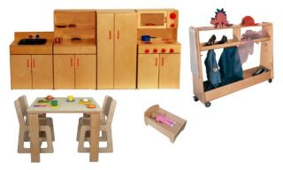 Strictly for Kids Preferred Mainstream Preschool Dramatic Play Pack of 1   Play Kitchens
