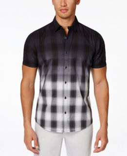 INC International Concepts Party Wave Plaid Shirt, Only at