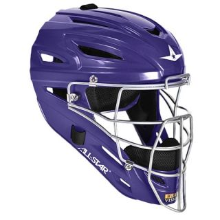 All Star System 7 MVP Catchers Head Gear   Baseball   Sport Equipment   Purple