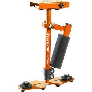 Glidecam iGlide Handheld Stabilizer for 14oz Cameras, Orange GLIGLD O
