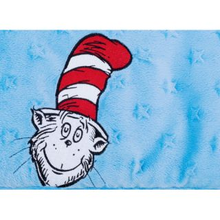 Dr. Seuss Cat In The Hat Cribwrap® Wide Rail Cover by Trend Lab