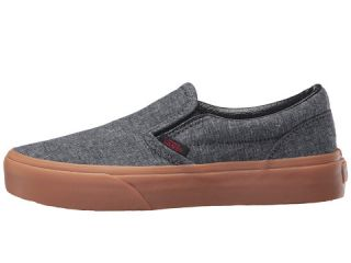 Vans Kids Classic Slip On (Little Kid/Big Kid) (Gum) Suiting/Chili Pepper