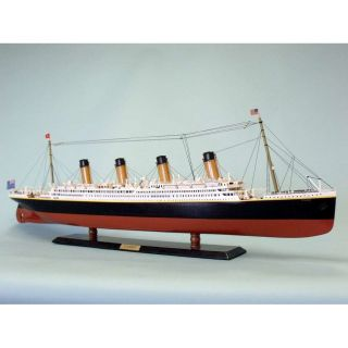 RMS Titanic 40 Limited Model Cruise Ship by Handcrafted Nautical