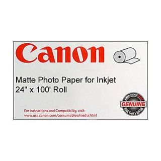 Canon 170gsm Coated Paper, Matte, 24(W)x 100(L), 1/Roll
