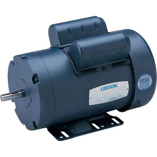 Leeson Pressure Washer Duty Electric Motor —1/3 HP, 1800 RPM 115/208–230 Volts, Single Phase, Model# 116485  Pressure Washer Motors