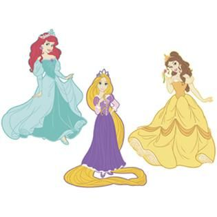 RoomMates Disney Princess Foam Characters   Home   Home Decor   Wall