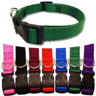 Majestic Pet 18''   26'' Adjustable Collar in Multiple Colors Fits Most 100 200 lbs Dogs.