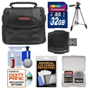 Precision Design PD C10 Camera/Camcorder Case with 32GB SD Card