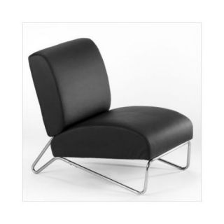 Directions East Easy Rider Chair in Black Vinyl