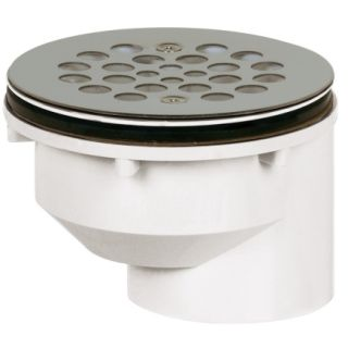 """Sioux Chief 2"""" Screw On Shower Drain Strainer (825 2PFS)   PVC Drain & Sewer Fittings"""
