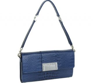 Womens Luis Steven Luisa Clutch with Crystal Logo C 4125