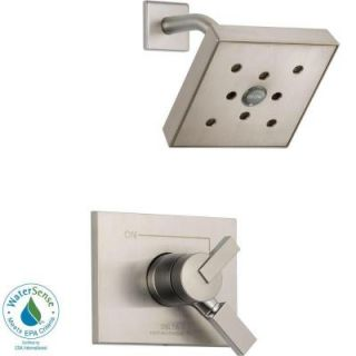 Delta Vero 1 Handle H2Okinetic Shower Only Faucet Trim Kit in Champagne Bronze (Valve Not Included) T17253 CZH2O