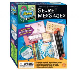 Scientific Explorer Secret Messages Mini Lab —