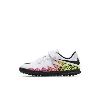 Nike Jr. Hypervenom Phade II Kids Turf Football Shoe UK