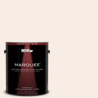 BEHR MARQUEE 1 gal. #760A 1 Creme Angels Flat Exterior Paint 445001