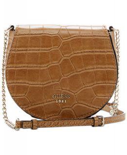 GUESS Cate Mini Saddle Crossbody Bag   Handbags & Accessories
