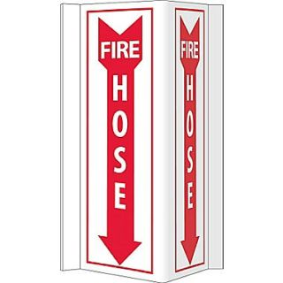 Visi, Fire Hose, 16X8.75, PVC Plastic