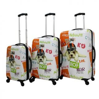 Chariot Fly Dog 3 piece Luggage Set   8085242
