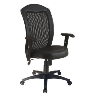 Office Star High Back Leather Conference Chair