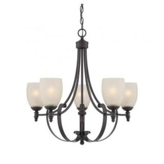 Filament Design Merrill 5 Light English Bronze Chandelier CLI SH0249945