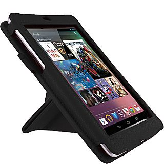rooCASE Google Nexus 7   Origami Dual View Vegan Leather Case