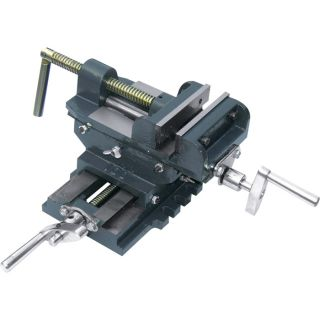 Northern Industrial Tools Cross Slide Drill Press Vise — 4in. Jaw Length