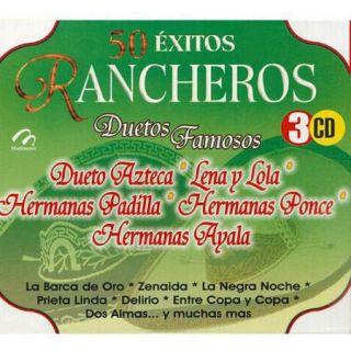 50 Extitos Rancheros: Duetos Famosos (3 Disc Box Set)