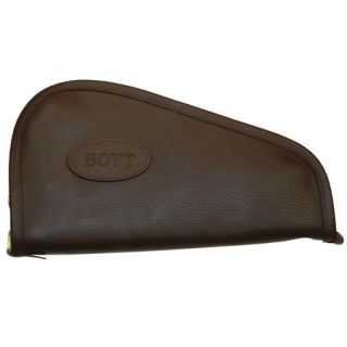 Boyt GCL062 12 Heritage Leather Handgun Case