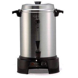 West Bend 13500 Urn 1500 W   55 Cup   Aluminum