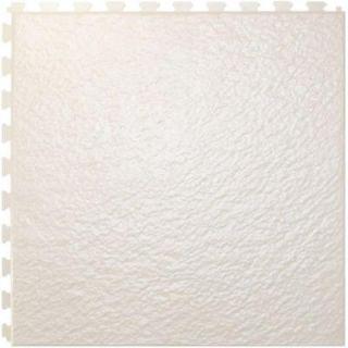 IT tile Slate White  20 In. x 20 In.  Vinyl Tile, Hidden Interlock Multi Purpose Floor,  6 Tile HS540W