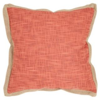 """Safavieh Madeline 18"""" Decorative Pillow in Brown (Set of 2)"""