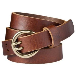 Womens Double Prong Jean Belt   Brown   Merona™