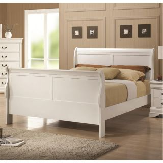 Coaster Furniture 204691F Full Sleigh Bed in White