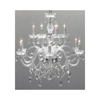 Harrison Lane 12 Light Crystal Chandelier