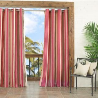 Parasol Windley Key Stripe Indoor/Outdoor Curtain Panel