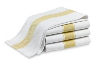 Williams Sonoma Classic Logo Towels, Set of 4