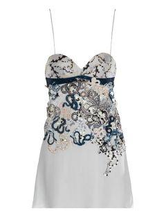 Fidi embellished babydoll dress  Mary Katrantzou US