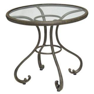 Old Gate Round Bistro Table by Woodard Landgrave