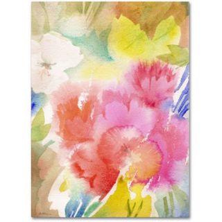 "Trademark Fine Art ""Sonoma Garden"" Canvas Art by Sheila Golden"