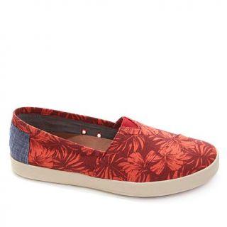 TOMS Avalon Tropical Slip On Textile Sneaker   8050513
