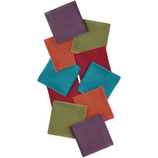 Fall Herringbone Heavyweight Dishtowel (Set of 4) and Dishcloth (Set